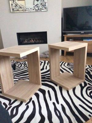 tv stand 2 side tables