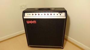 wem bass amp