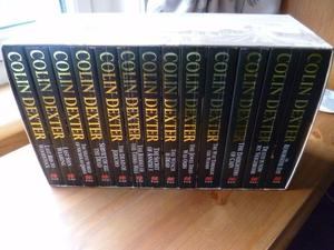 Boxed set of Inspector Morse novels by Colin Dexter - 13 books