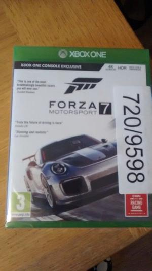 Forza 7 Xbox One Game - Brand New and Sealed