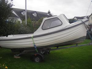 Shetland fisher boat