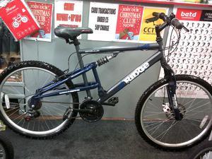 apollo ridge dual suspension mountain bike