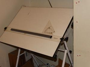 A1 Drawing board with stand