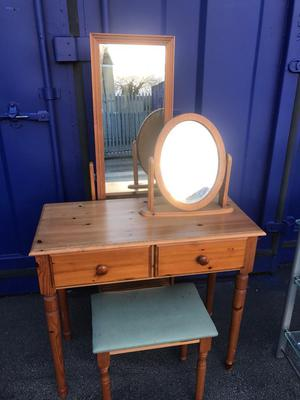Dressing Table 3Pc -Pine