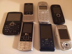 Old mobile phones no chargers