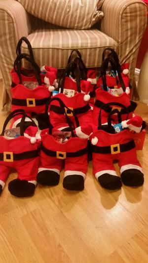 Santa Bags With Sweets