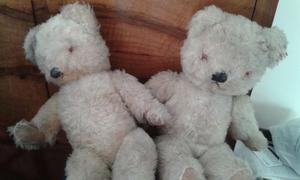 Antique teddy bears £10 for the pair