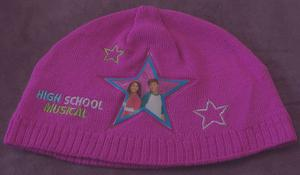 BNWOT GIRLS HIGH SCHOOL MUSICAL PINK KNITTED HAT