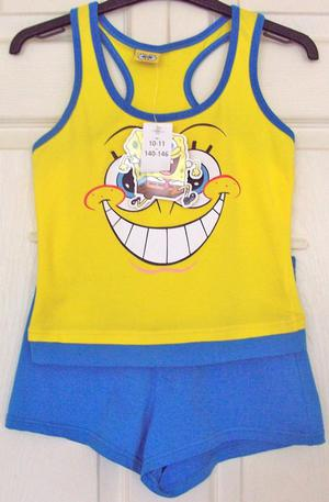 BNWT SPONGEBOB SQUAREPANTS 2 PIECE SET - AGE  YRS