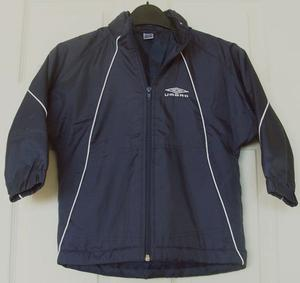 BOYS NAVY JACKET BY UMBRO - AGE 3/4 YRS