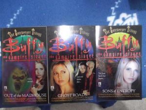 Buffy The Vampire Slayer paperbacks - The Gatekeeper Trilogy