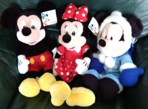 COLLECTION OF MICKEY MOUSE & MINNIE MOUSE DISNEYLAND PARIS
