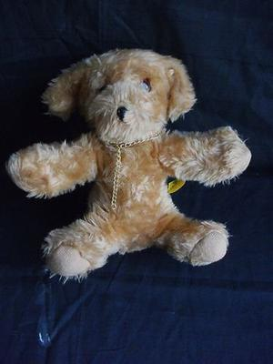 DEAN'S VINTAGE DOG. SOFT TOY COLLECTABLE.