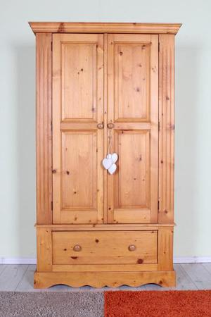 DELIVERY OPTIONS - DOUBLE PINE WARDROBE ALL TONGUE GROOVE