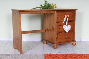 DELIVERY OPTIONS - SMALL DRESSING TABLE PINE 3 DRAWERS POSS