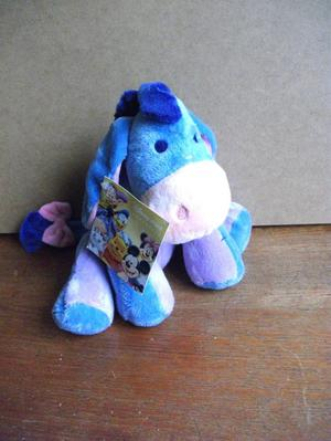 DISNEY STORE EXCLUSIVE EEYORE BEAN TOY WITH TAGS.