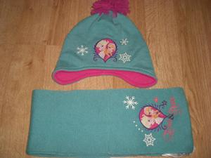 Frozen Hat & Scarf Set, 8-12yrs