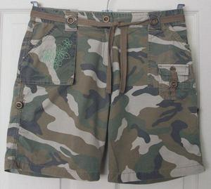 GORGEOUS GIRLS CAMOFLAGE SHORTS BY NEXT - AGE 14 YRS