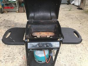 Gas BBQ With Bottle Outback Omega 200