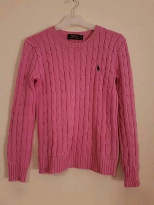 Genuine Ralph Lauren Polo 100% cotton cable knit jumper