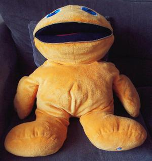 Giant Zippy Soft Toy from the popular TV show rainbow