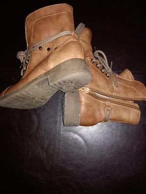 Girls Brown boots size 12