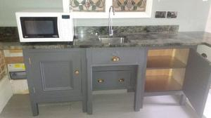 Hand made freestanding kitchen units