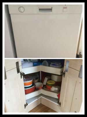 Howdens Kitchen Units + Appliances