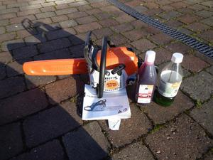 Immaculate Stihl MS Chainsaw used twice
