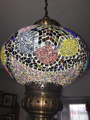 Moroccan hanging ceiling light