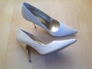 New Ladies white high heels 7