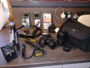 Nikon D Digital SLR Camera - LENSES - PLUS EXTRAS - VIEW NOW
