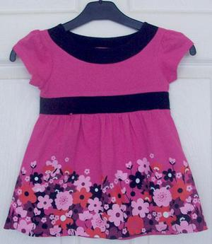 PRETTY GIRLS FLOWERED DRESS BY SWEET MILLIE - AGE 3 YRS