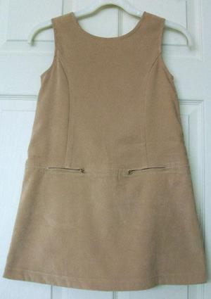 PRETTY GIRLS PINAFORE DRESS BY MACKAYS - AGE 7/8 YRS