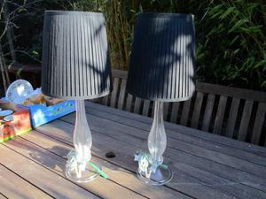 Pair of side lamps