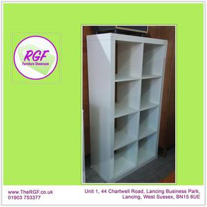 SALE NOW ON!! White Cube Shelving - Local Delivery £19