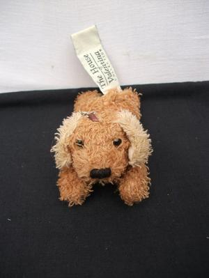 THE HOUSE OF VALENTINA COLLECTION,TEDDY BEAR KEYRING. DOG