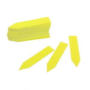 100pcs Yellow Stick in Garden Plant Seed Labels Nursery