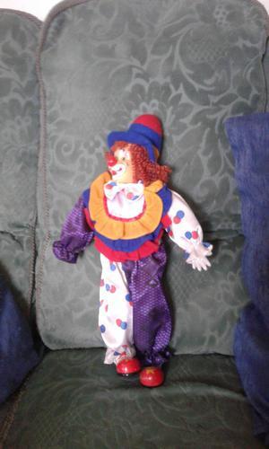 15inch porcelain clown