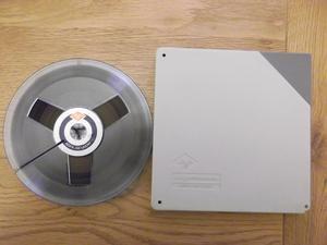 """AGFA PEft reel-to-reel tape on 7"""" plastic spool"""