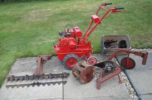 Barford Atom (small lightweight garden tractor)