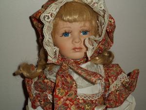 Beautiful Porcelain doll from Greece