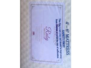Brand new in wrapper  pocket luxury mattress reduced to