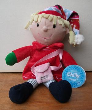 "CHILLY ""EMILY"" - TESCO SOFT TOY DOLL. WITH TAGS."