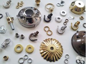 Chandelier components and lighting accessories