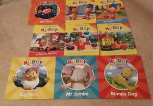 Collection of 15 Noddy Books