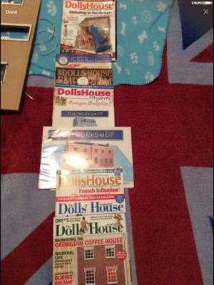 Dolls house magazines and dolls house furniture MUST GO ASAP