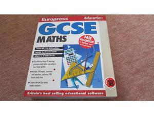 Europress GCSE Maths CD-ROM in Chelmsford