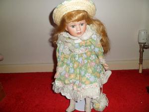 Gorgeous Leonardo Porcelain doll