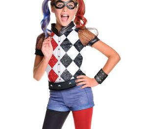 Harley Quinn costumes from Fancy Dress factory